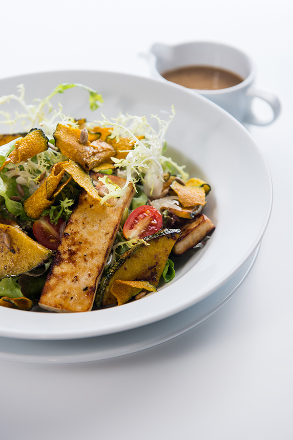 Grilled-Pumpkin-&-Tofu-Salad