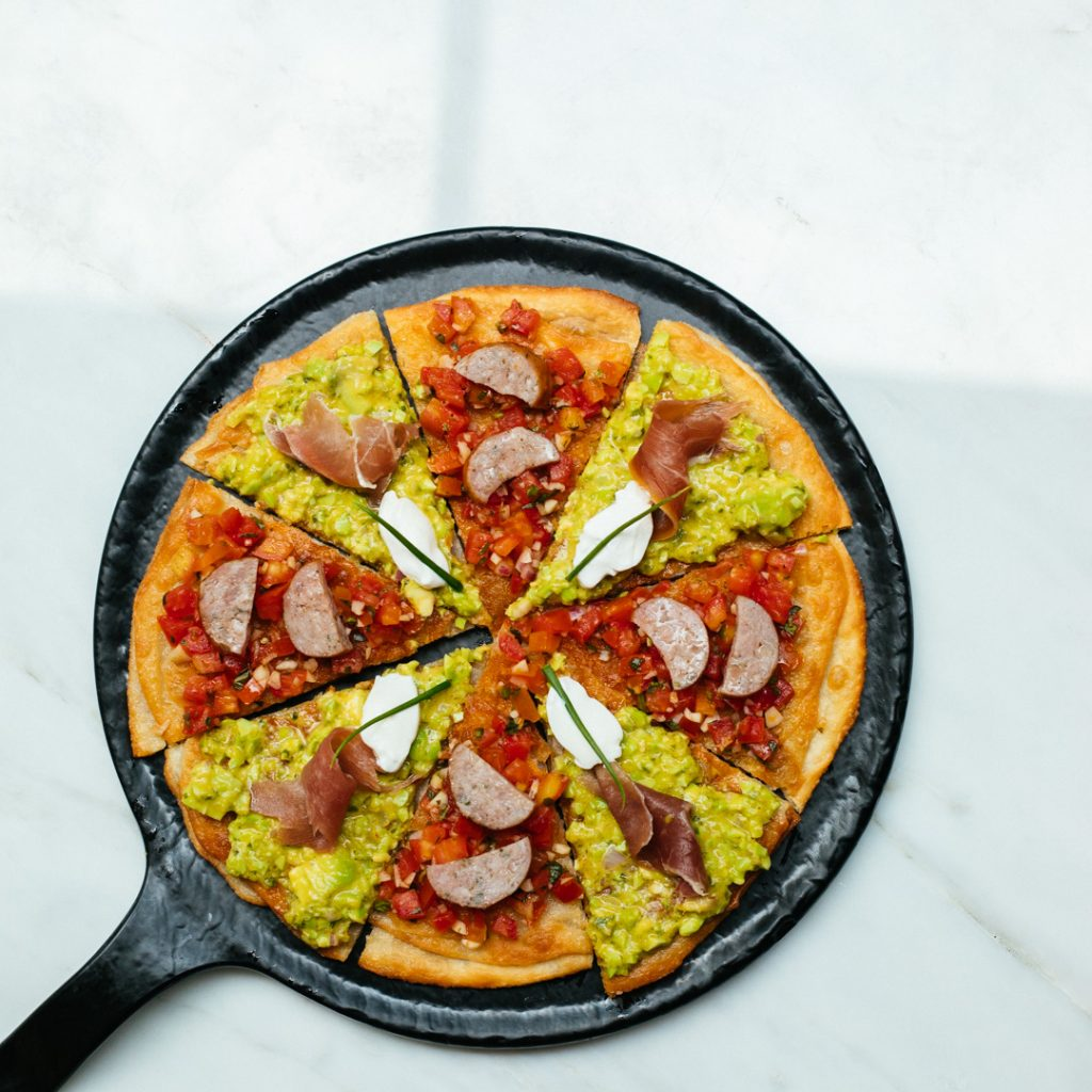 Dual Topping Roti Pizza